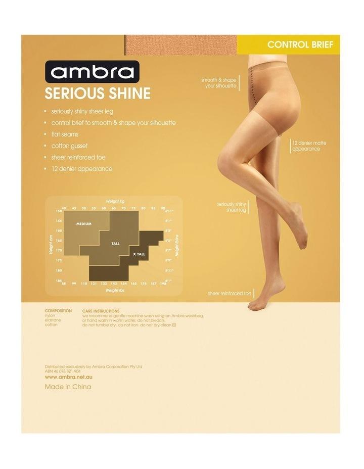 Serious Shine Control Brief Pantyhose image 4
