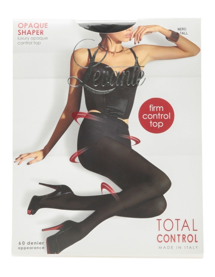 Opaque Shaper Pantyhose OPASHAPL in Black image 1