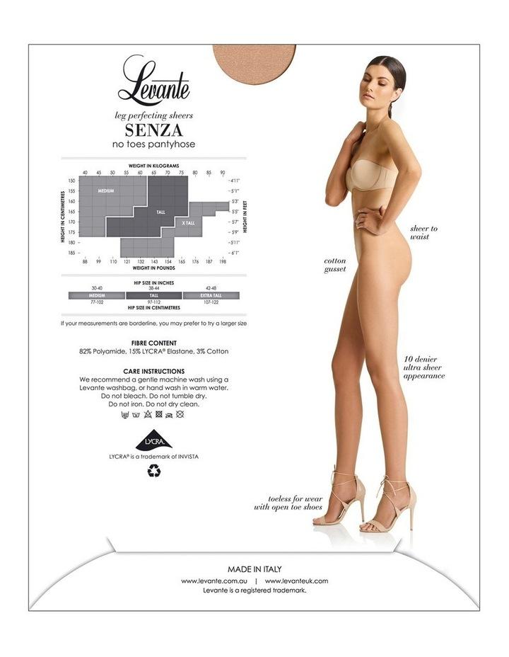 Senza No Toes Pantyhose LEVPUNUNT image 4