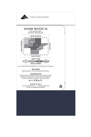 Levante - Suede Matte 50D Tights