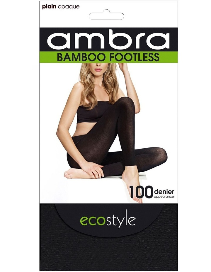 Ecostyle Bamboo Footless Tight 100 Denier image 1