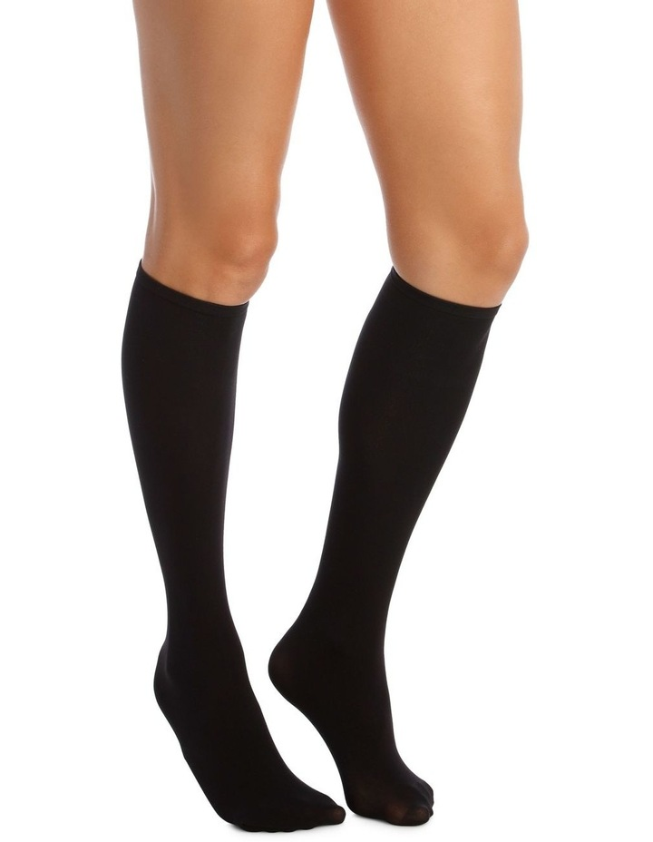 Dig Free Opaque Knee High 2 Pack HXQF2N image 3