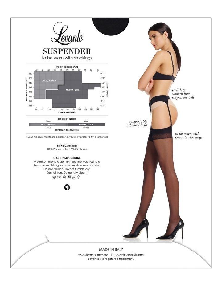 Smooth line Suspender belt image 4