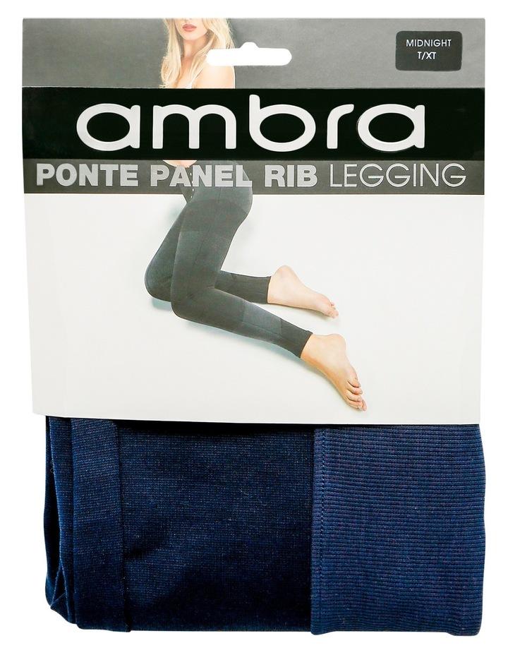 Ponte Panel Rib Legging image 1