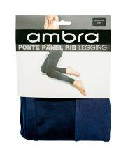 Ponte Panel Rib Legging