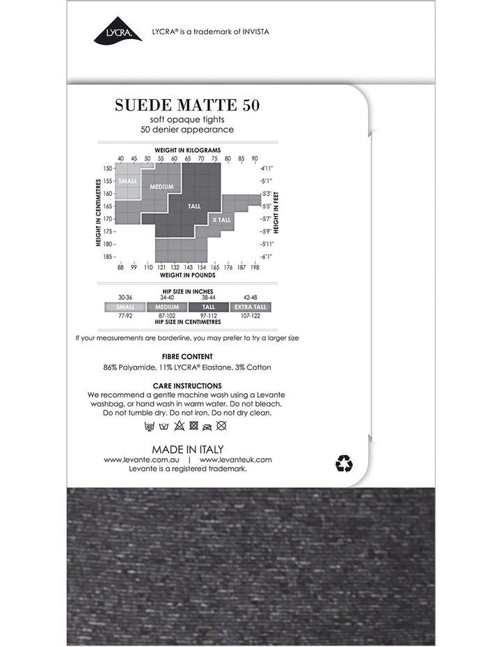 Suede Matte 50 Marle Tight image 3
