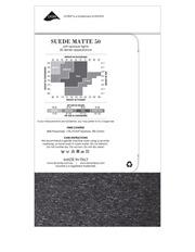 Levante - Suede Matte 50 Marle Tight