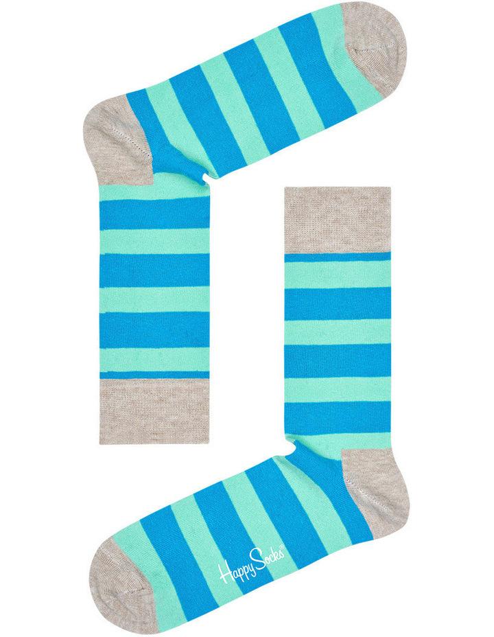 """""""Stripe"""" Crew Sock STR01-1000 image 2"""