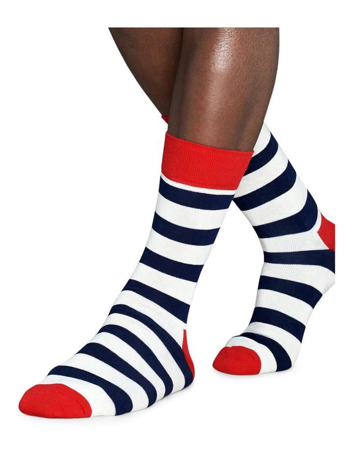 """Stripe"" Crew Sock SA01-045 image 3"