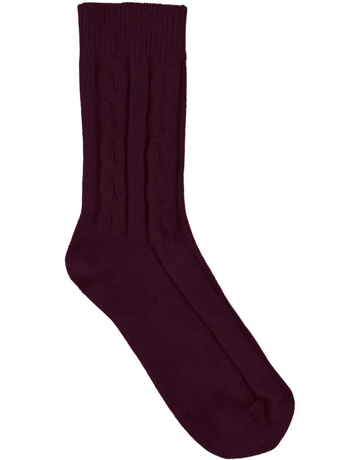 Rosa Cable Sock LEVRCCS image 1