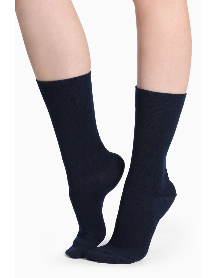 Merino Wool Blend Health Sock image 1