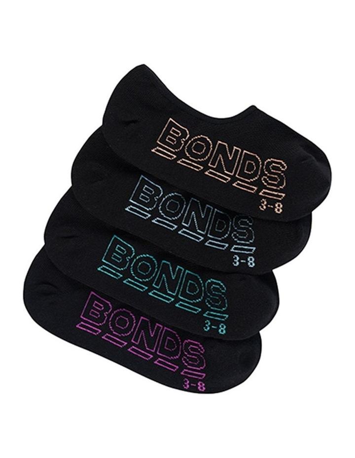 Bonds 'Logo Light' Sneaker 4PK LYKR4N image 1