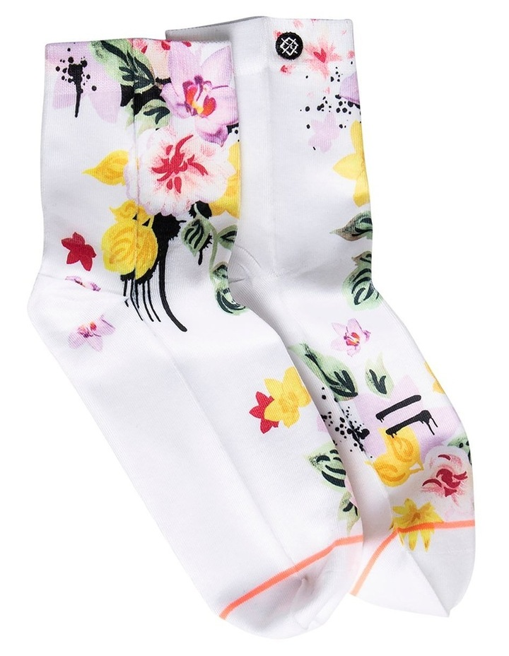 Stance 'Just Dandy' Lowrider Qtr Crew Sock W315C18JUS image 2