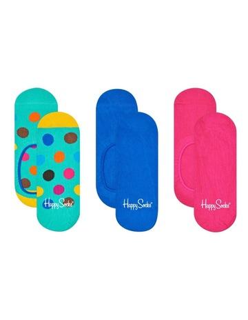 Happy SocksHappy Sock 3-Pack Big Dot Liners. Happy Socks Happy Sock 3-Pack  Big Dot Liners 05971c977