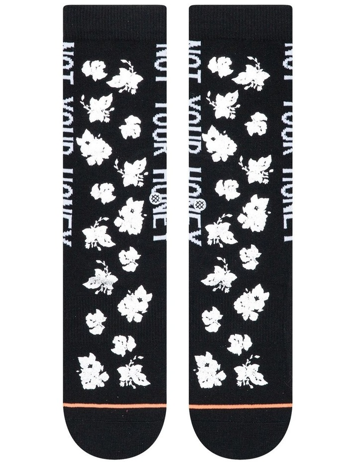 'Not Your Honey' Socks W525A19NYH image 2