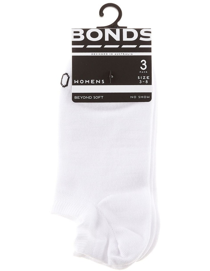 'Best Basic' No Show Sock 3pk LYCW3N image 1