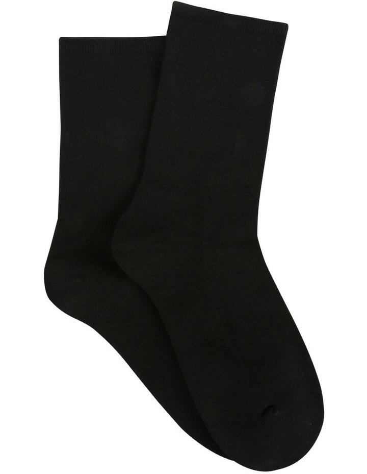 Bamboo Soft Top Crew Socks 2 Pack image 1