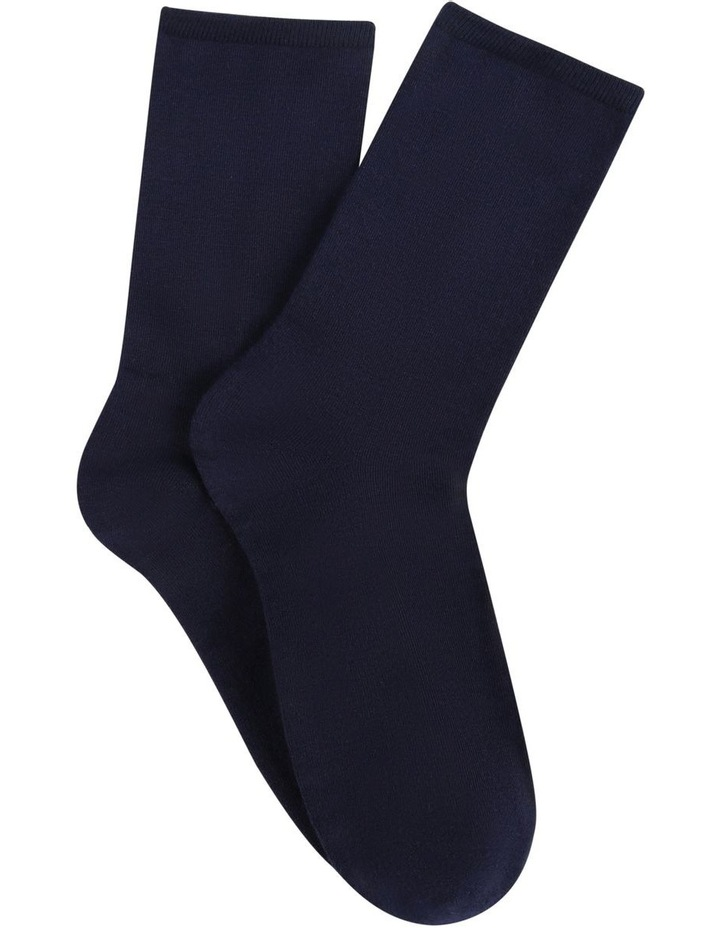 Bamboo Soft Top Crew Socks 2 Pack image 1