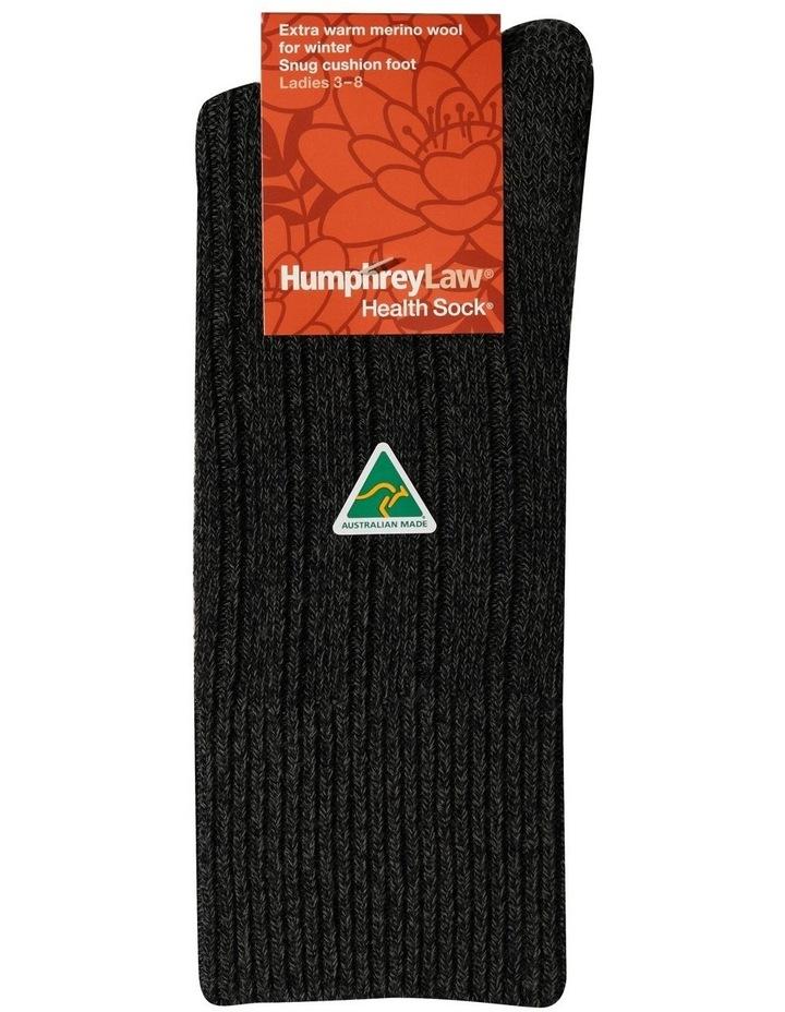 90% Fine Merino Wool Winter Health Sock image 1