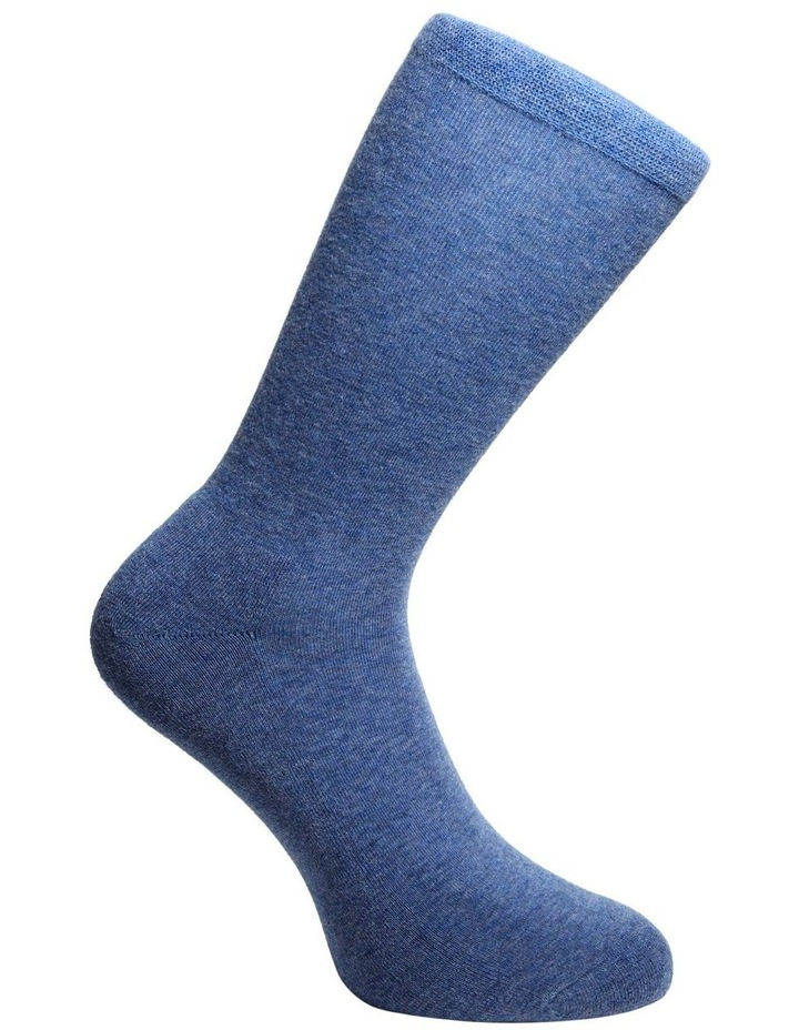 Comfort 2 Pack Crew With Moss Stitch 18-076 image 3