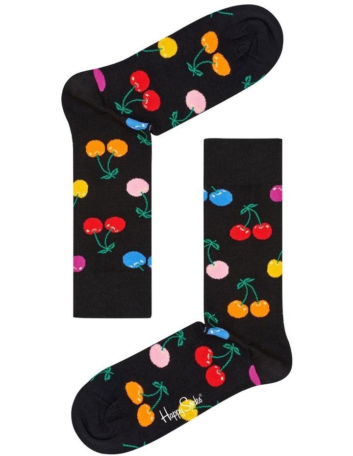 Cherry' Crew Socks CHE01-9002 image 1