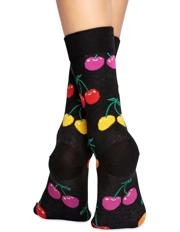 Cherry' Crew Socks CHE01-9002 image 3