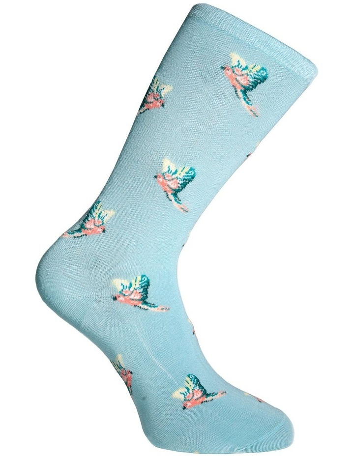 Flying Parrots Crew Bamboo Socks 20-096 image 3
