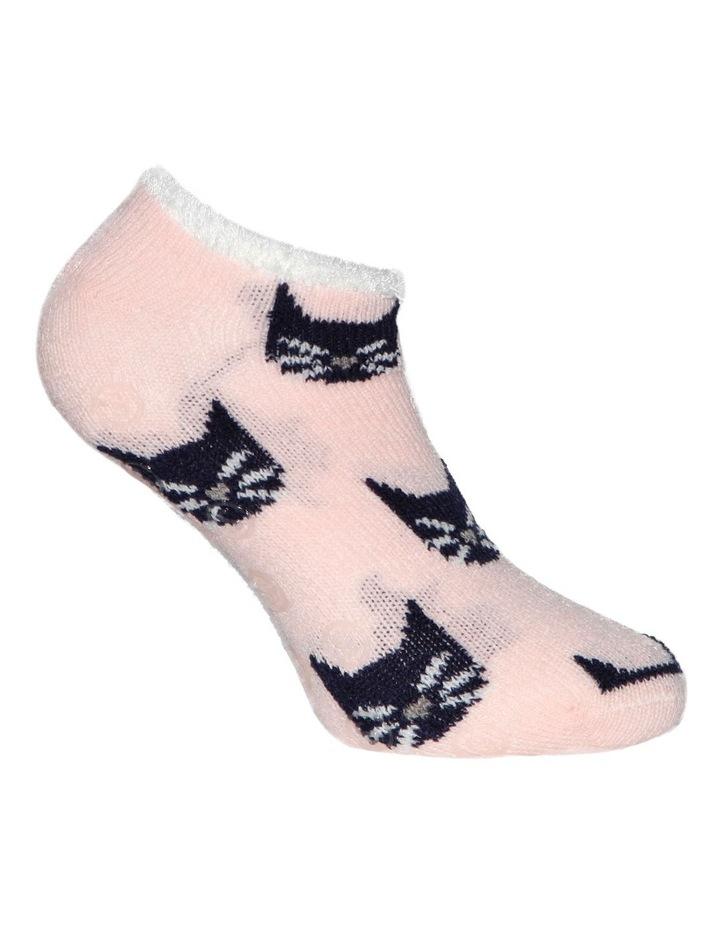 Plush Lined Cat Sockette 23-175 image 3