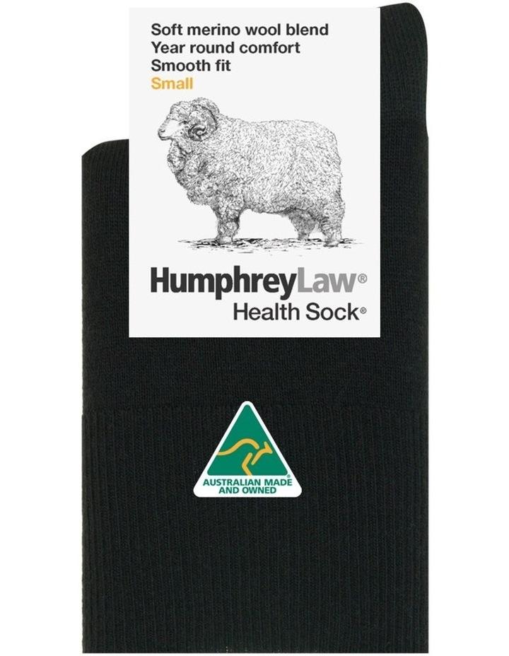 Fine Merino Wool Ladies Short Cuff Health Sock image 1