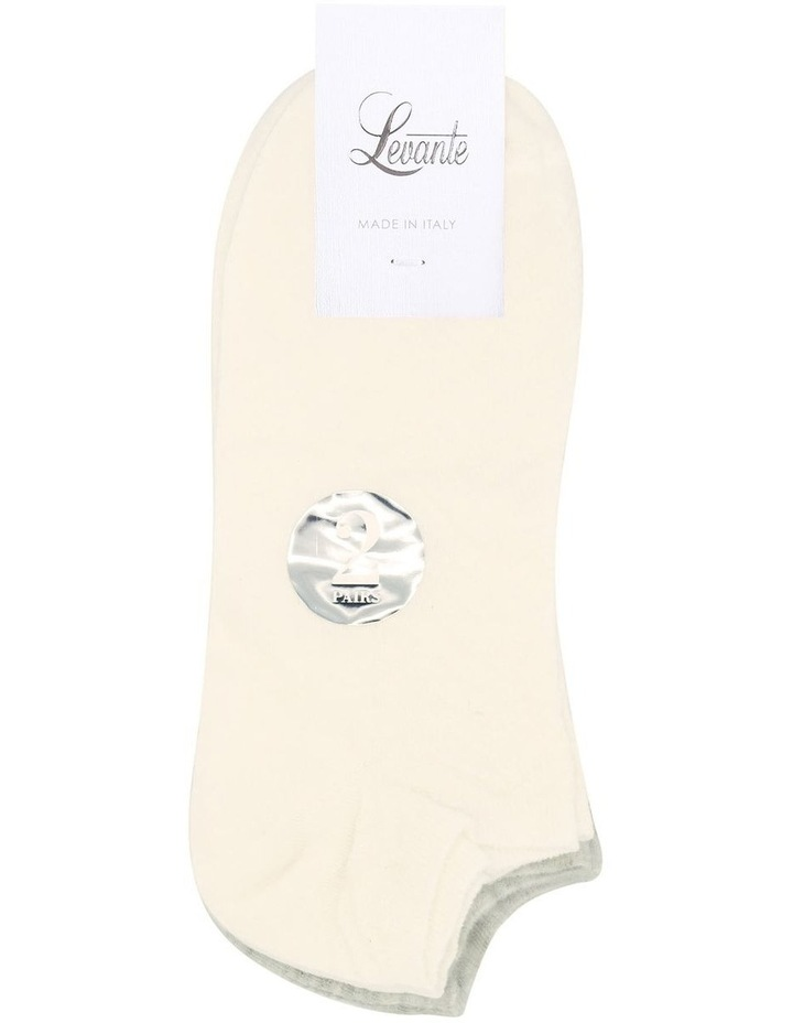 2 Pack Low Cut Sock LEVLCSK2 image 2