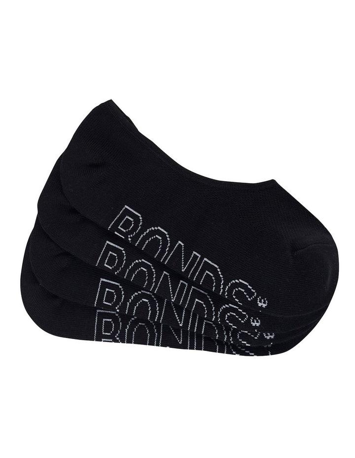 Bonds Aussie Cotton Logo Light Sneaker 4Pk LXPL4N image 1