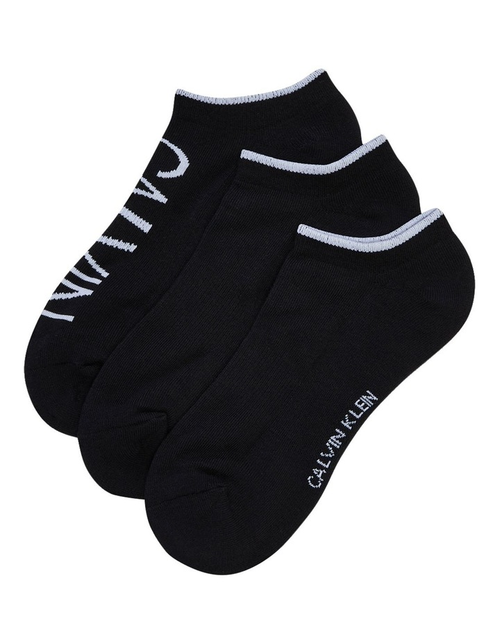 3 Pack 1/2 Terry Cushion No Show Socks CKW211NS02_001 image 1