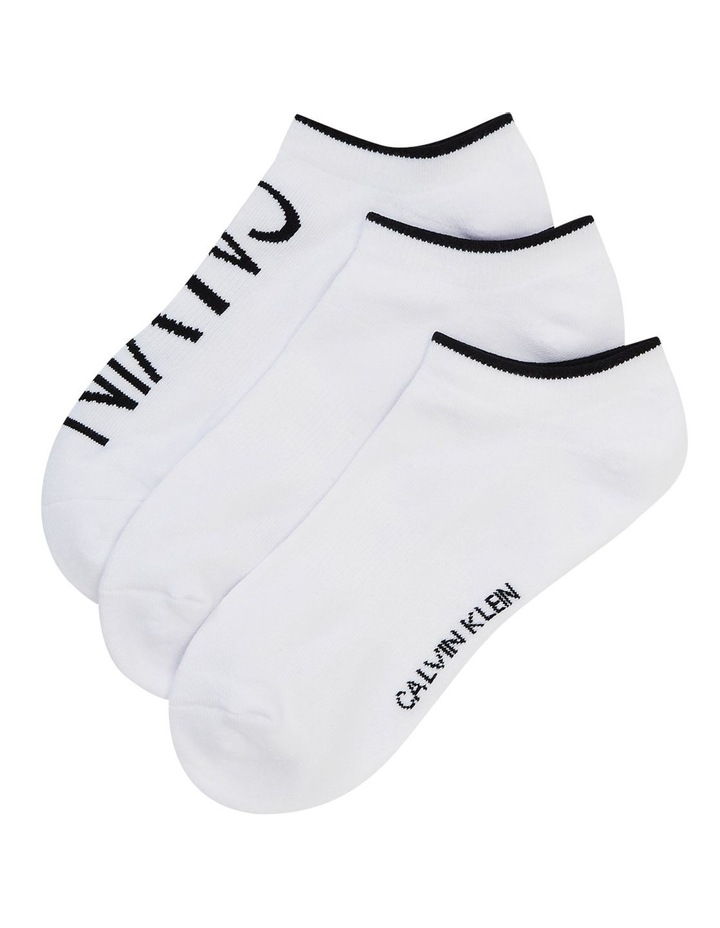 3 Pack 1/2 Terry Cushion No Show Socks CKW211NS02_002 image 1