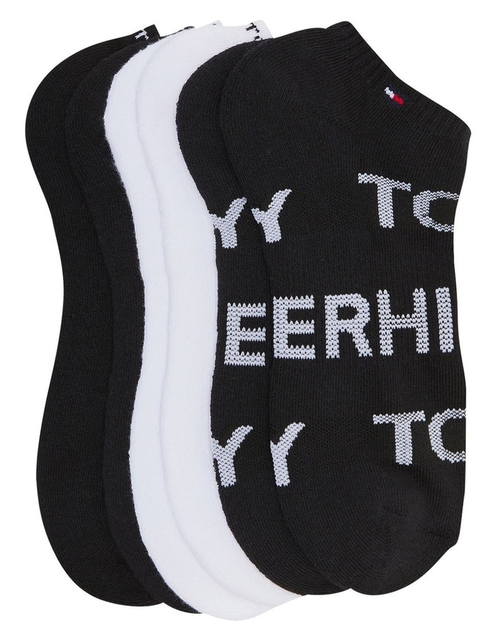 Tommy Hilfiger 3Pk Athletic No Show THW211NS01_002 image 1