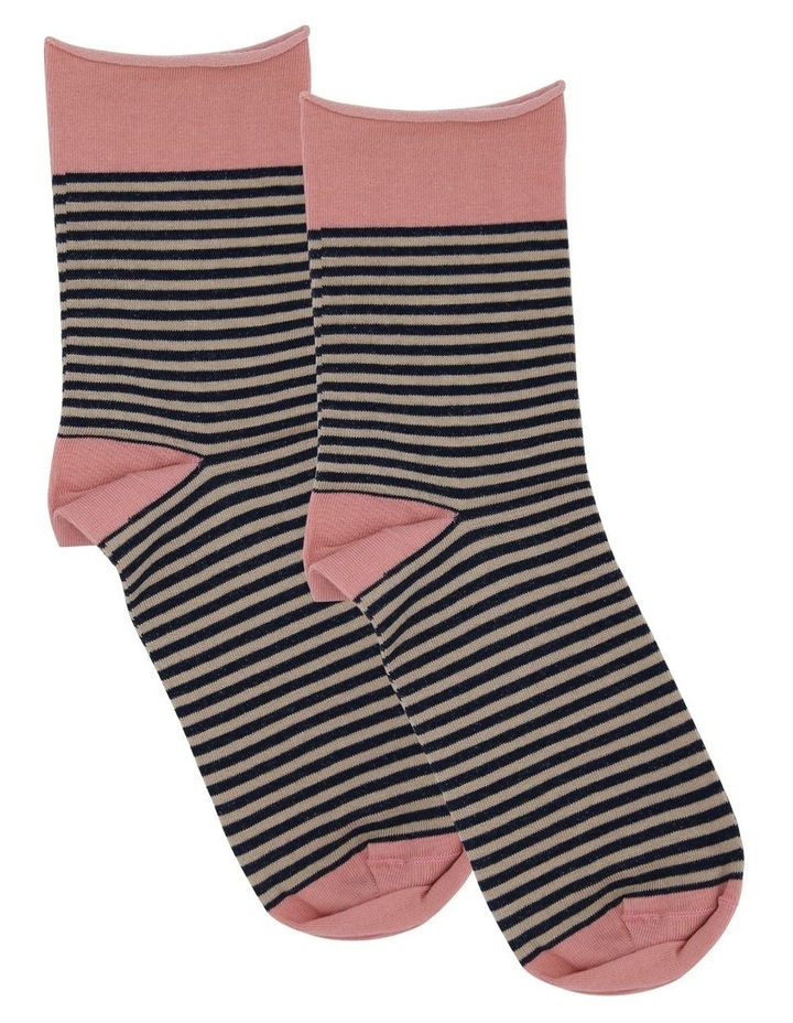 Carlotta Roll Top Crew Sock image 1