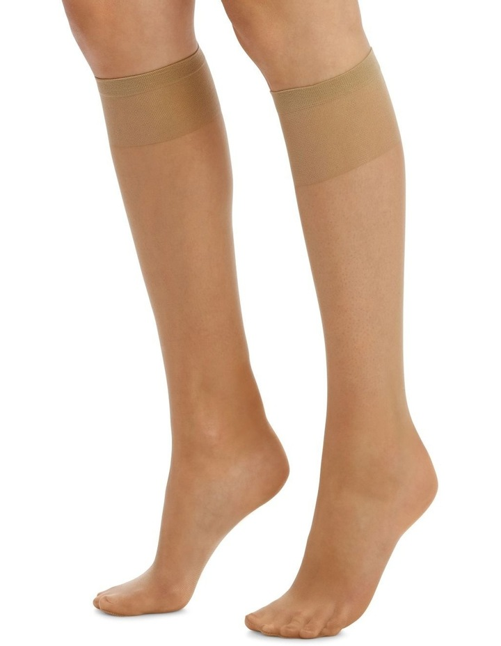 15D Sheer Knee Highs 3 Pack image 3