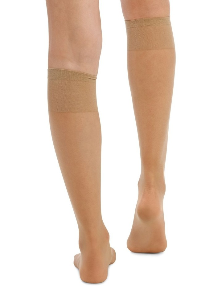 15D Sheer Knee Highs 3 Pack image 4