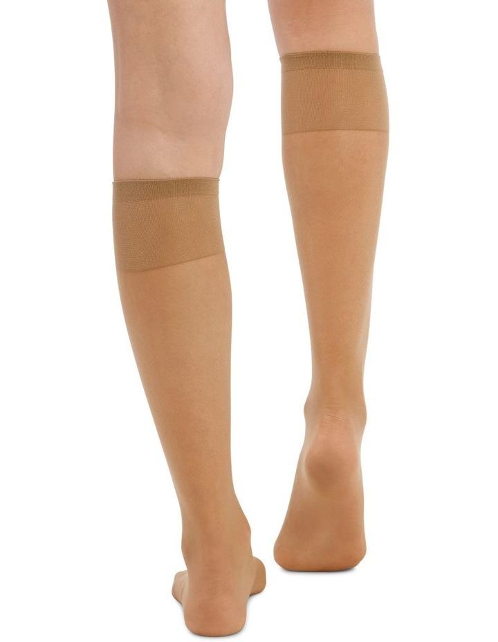 15D Sheer Knee Highs 3 Pack image 4