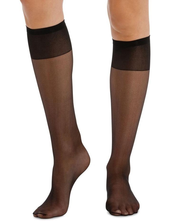 15D Sheer Knee Highs 3 Pack image 2