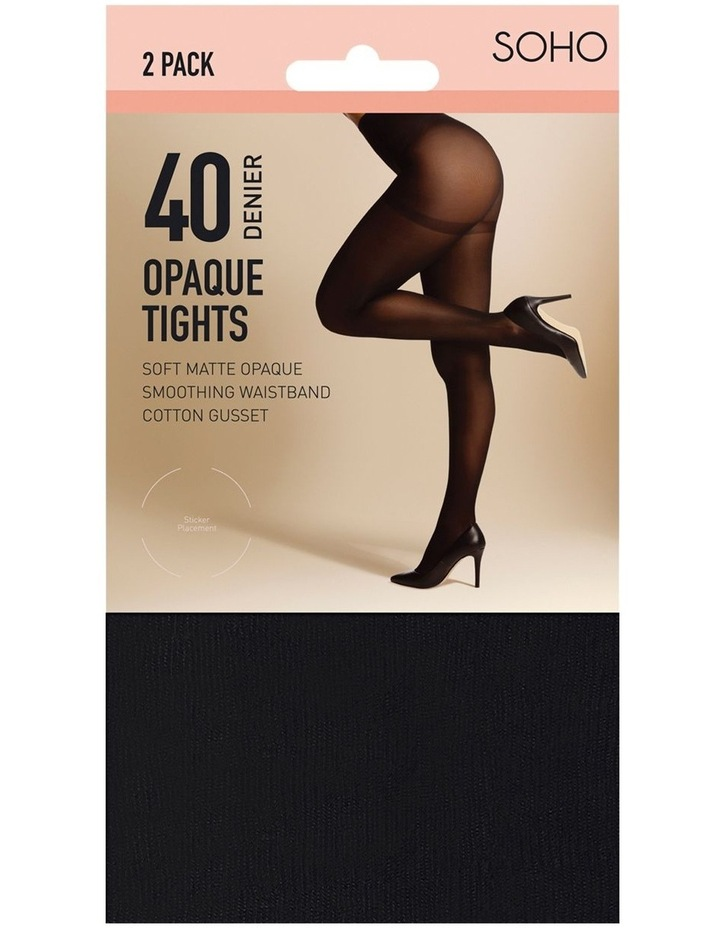 40D Opaque Tights image 1