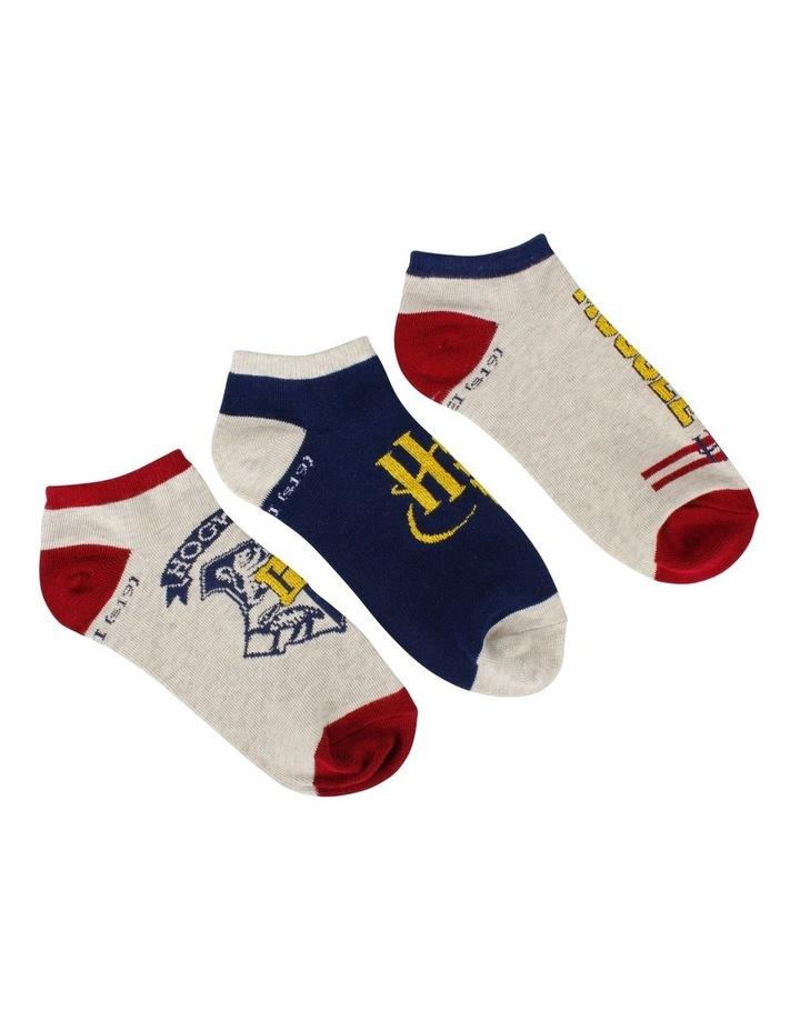 Harry Potter Ankle Socks 3pk image 2