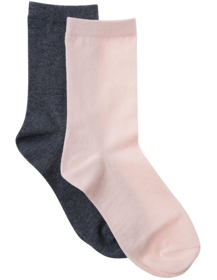 2 Pack Classic Crew Sock image 1