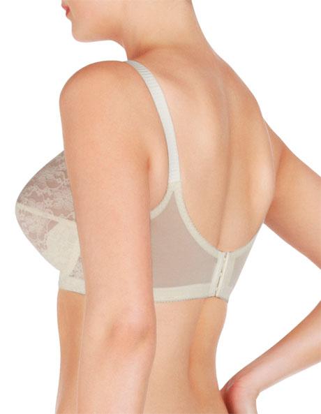 'Classic' Full Support Lace Underwire Bra L210 image 2