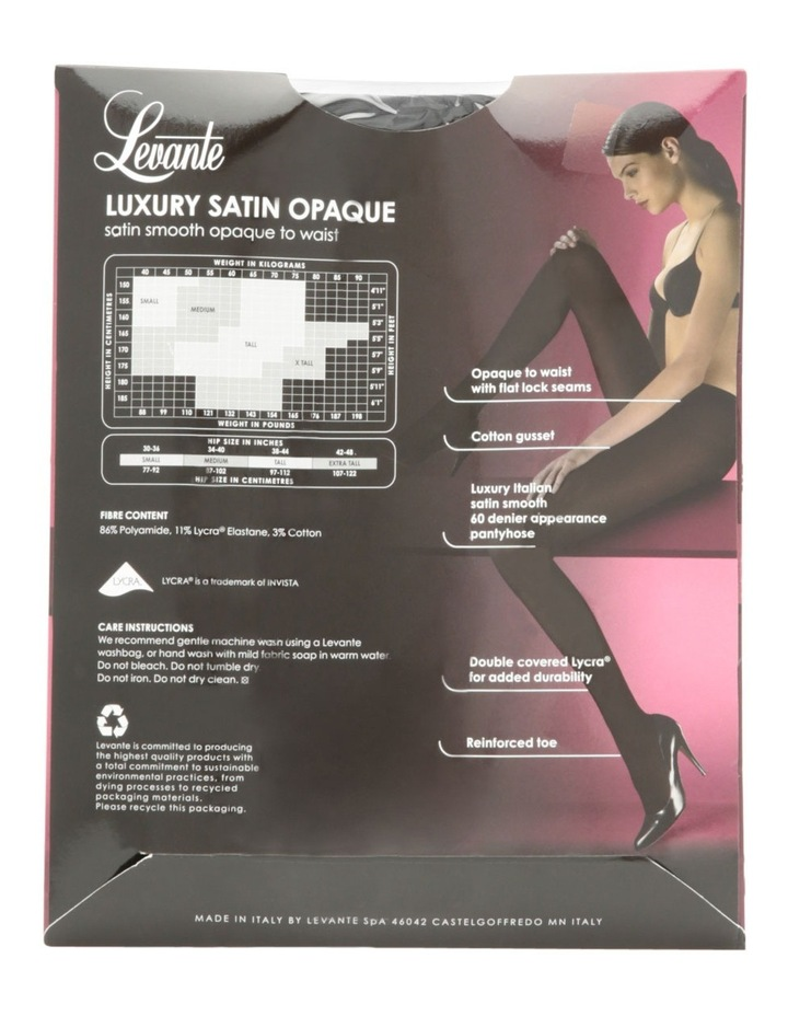 Luxury Satin Opaque Tights image 4