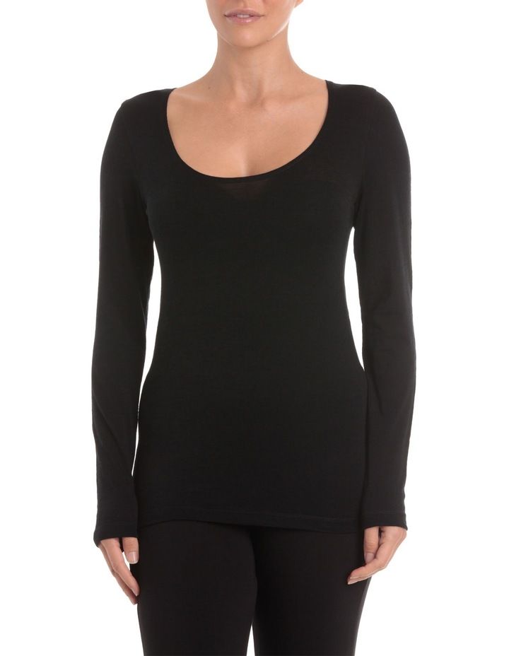 Wool Thermals Long Sleeve Top USOW14006 image 1