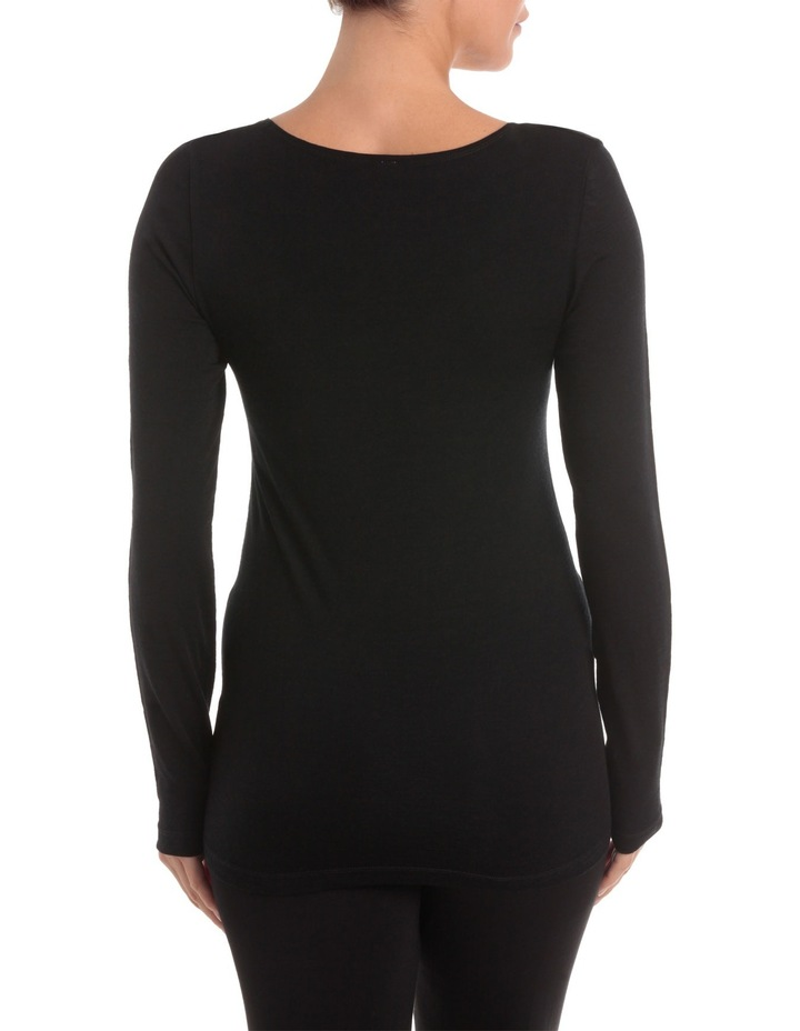 Wool Thermals Long Sleeve Top USOW14006 image 2