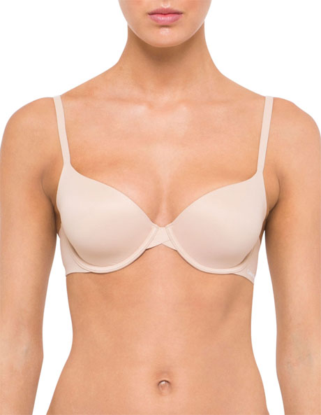 CK 'Perfectly Fit' Modern T-Shirt Bra F3837 image 1