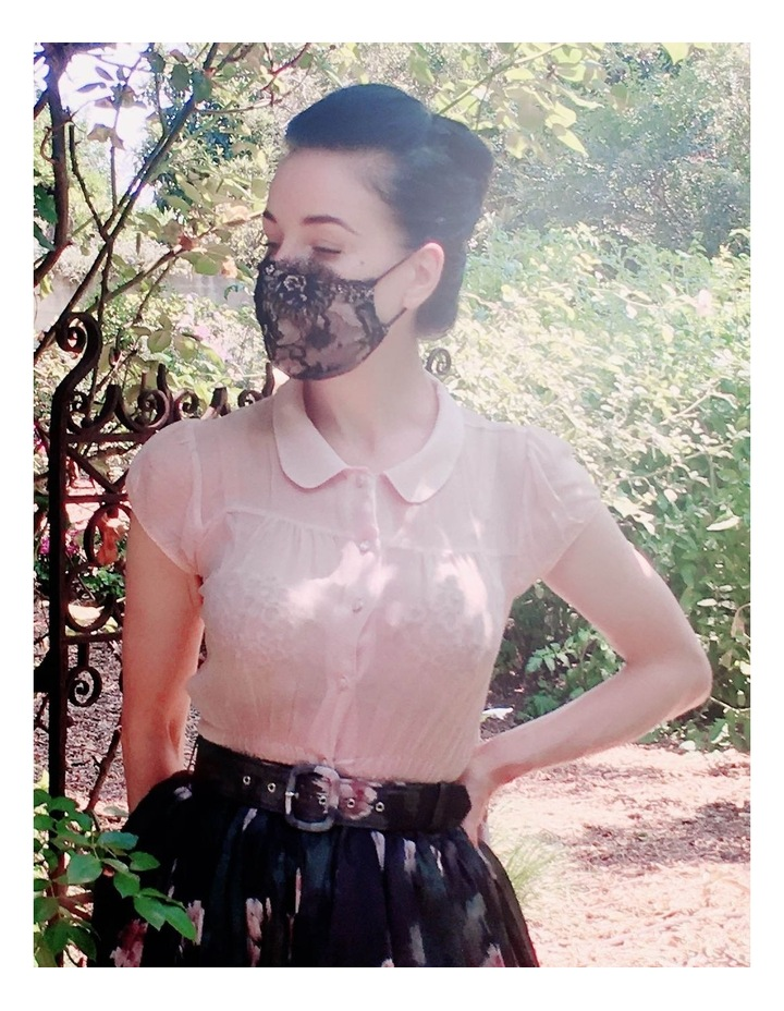 Dita Lace Mask image 3