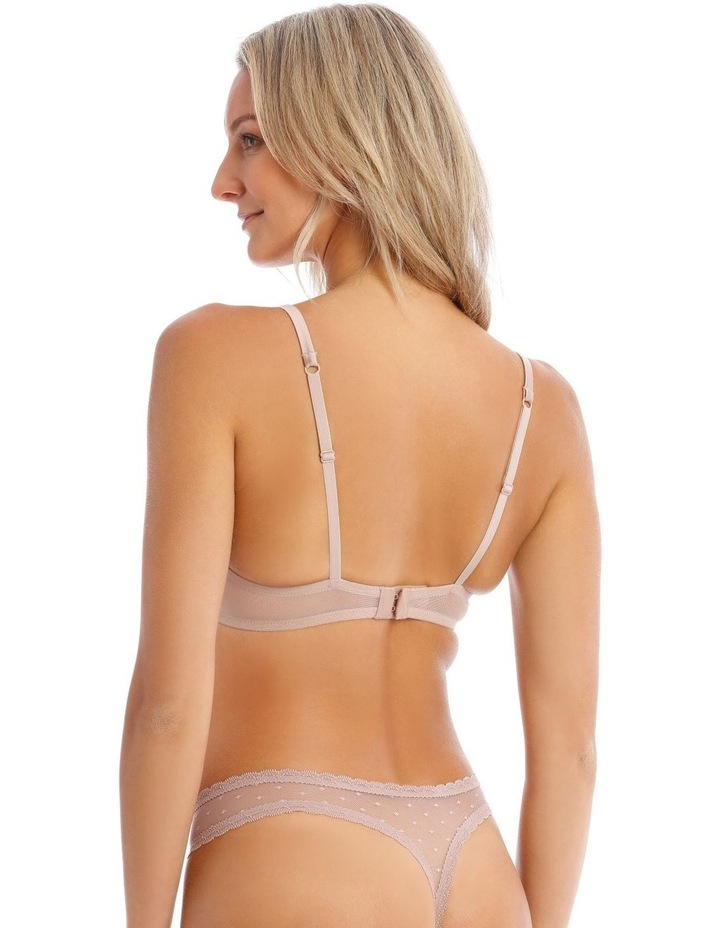 Willow Non-Moulded Underwire Bra in Fawn image 2