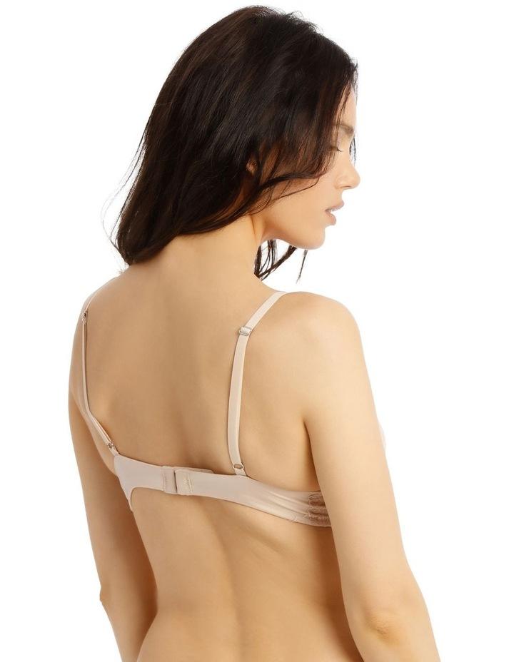 Lace Comfort Contour Push Up Bra - Beige image 2